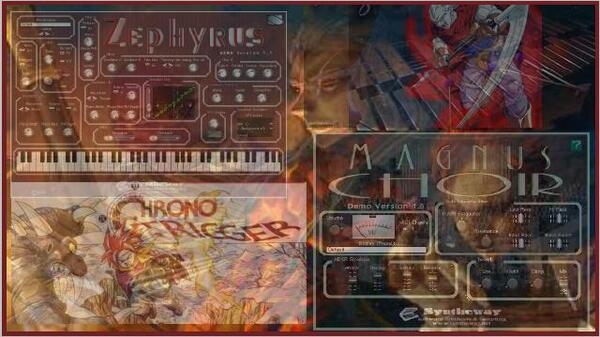 Battle Theme Chrono Trigger Magnus Choir Zephyrus Marimba Mallet Percussion Kit VST Plugins
