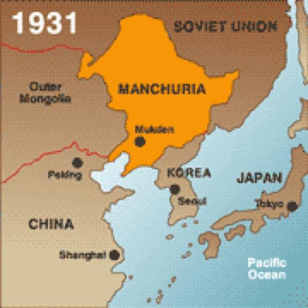 japan occupation of manchuria