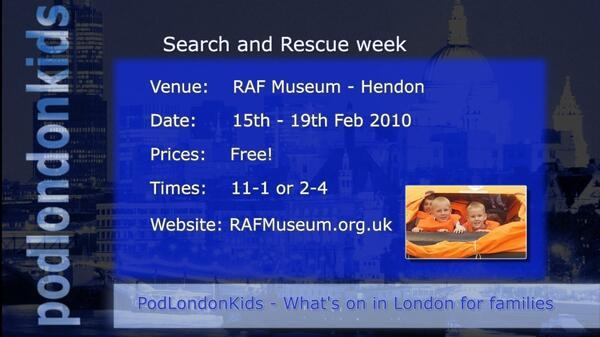 RAFMuseum SearchandRescue HalfTerm