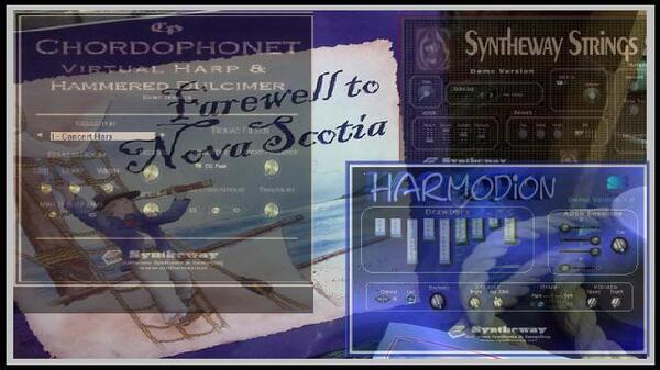 Farewell To Nova Scotia Harmodion Accordion Chordophonet Virtual Harp Syntheway Strings DAL Flute