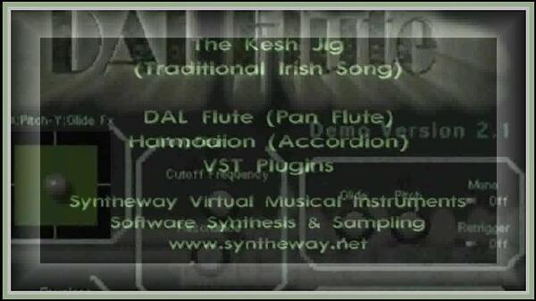 The Kesh Jig Traditional Irish Syntheway DAL Pan Flute Harmodion Accordion VST Plugins Software