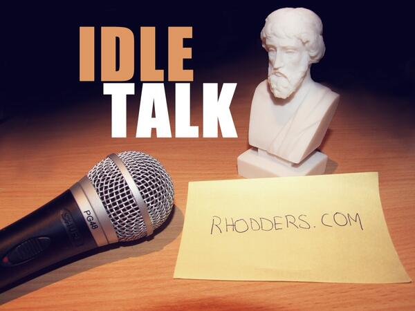 Rhodders plato and mic text