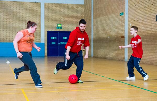 RLSB Sport Without Limits event in Eastbourne with Darren Leach Alex Brenner please credit D3C6549