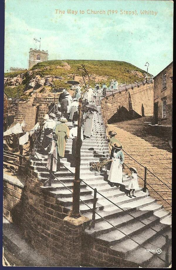 the way to Schurch 199 Steps Whitby