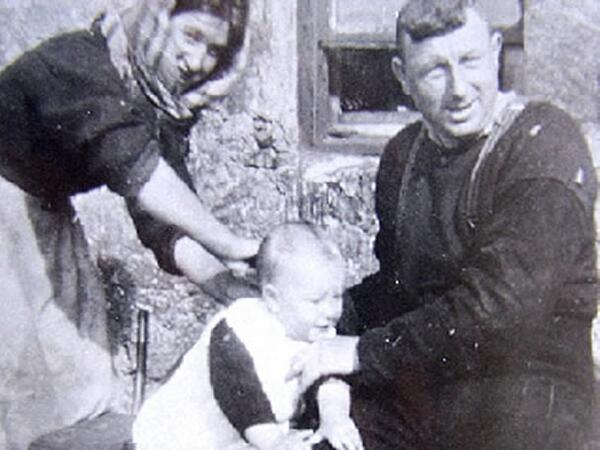 NORMAN GILLIES mother Mary father John
