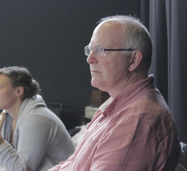 Charles Way in rehearsals