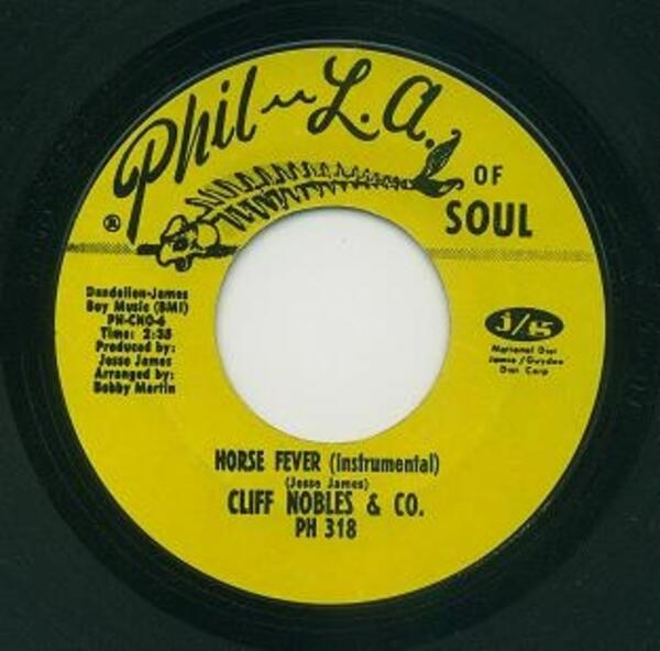 Cliff Nobles - Love Is All Right