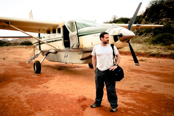 Me and a plane-001