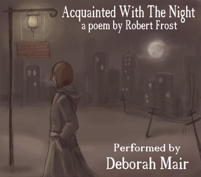 frost s acquainted with the night a A deceptively simple, fourteen-line poem in terse rime, robert frost's acquainted with the night depicts a solitary walker's nightly walks through an.