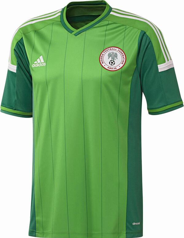 Nigeria 2014 World Cup Home Kit 0