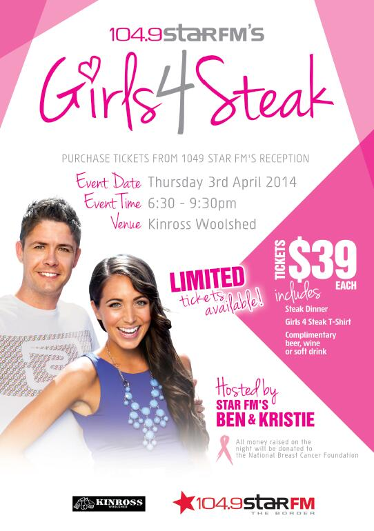 Girls 4 Steak poster