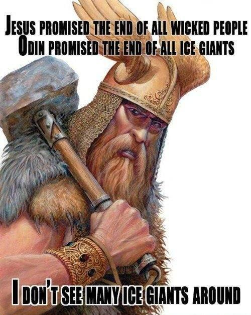 jesus-promised-the-end-of-all-wicked-people-odin-promised-the-end-of-all-ice-giants