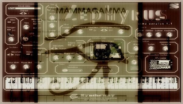 Mammagamma The Alan Parsons Project Zephyrus Syntheway Strings Magnus Choir VST