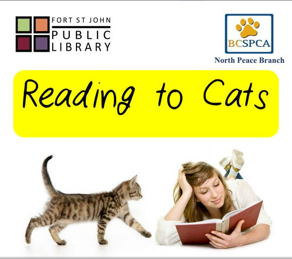 reading to cats