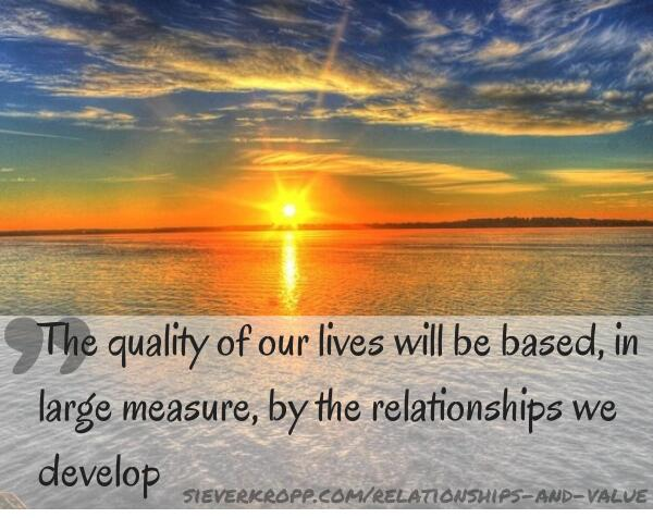 Quality of our lives