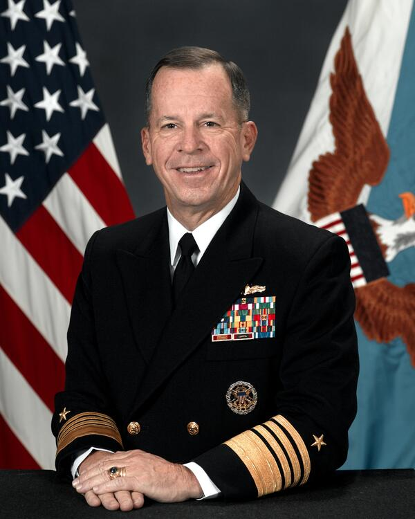 Michael Mullen CJCS official photo portrait 2007